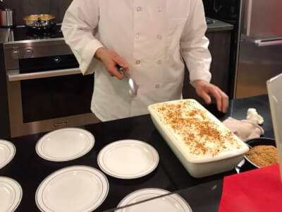 Cooking Class with Chef Giancarlo Presta