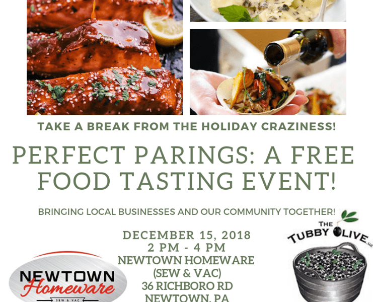 Perfect Pairings: A Free Food Tasting Event